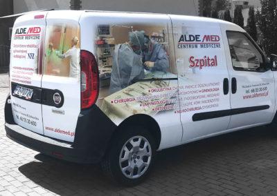 Aldemed - projekt, druk, oklejenie samochodu_2