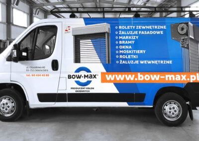 Bow-Max - projekt i oklejenie