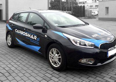 Carbosmar – druk i oklejenie samochodu