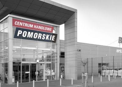 Centrum handlowe Pomorskie – druk i montaż reklamy