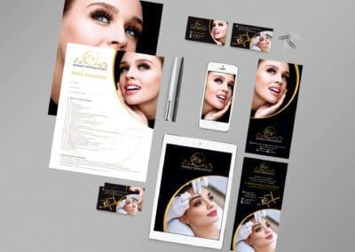 DN Makijaż Permanentny - logo, projekty i druki