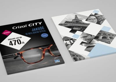 Essilor, Crizal City – Key Visuale