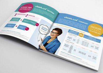 Essilor – projekt broszury