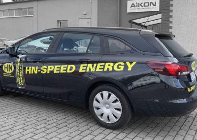 HN-Speed Energy - projekt i oklejenie samochodu