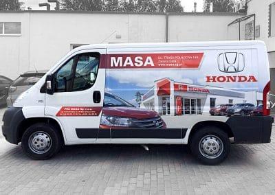 Honda Masa – oklejenie samochodu, sesja zdjęciowa, projekt, folia