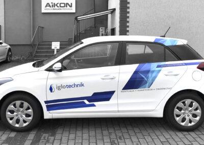 Iglotechnik - projekt i oklejenia auta