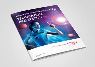 JZO – Key Visual, broszura A4, projekt, druk