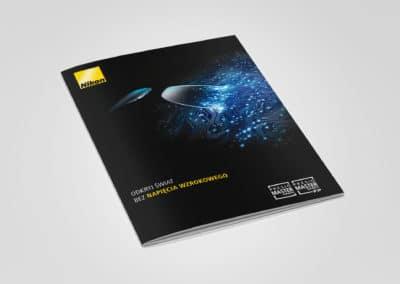 JZO - NIKON - broszura - sklad, druk