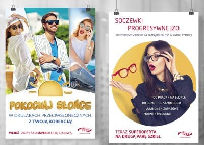 JZO – plakaty, Key Visuale, projekty, druk