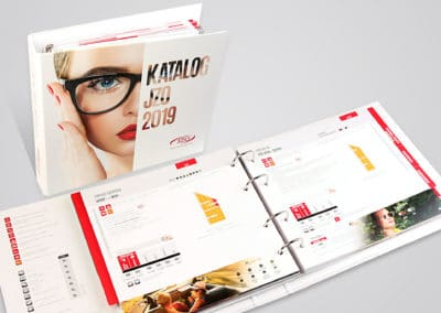 JZO - projekt i druk katalogu