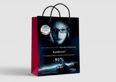JZO – torba papierowa reklamowa, projekt, produkcja