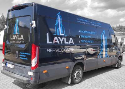 Leyla - projekt i oklejenie busa 2