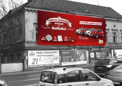 Lotto - druk i montaż siatki reklamowej