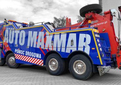 Maxmar - projekt i oklejenie MANa