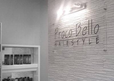 Proco Bello - projekt, realizacja i montaż tablic