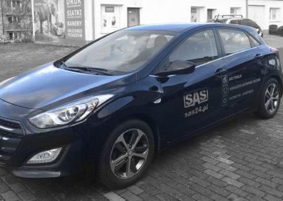 SAS - projket i oklejenie auta_2