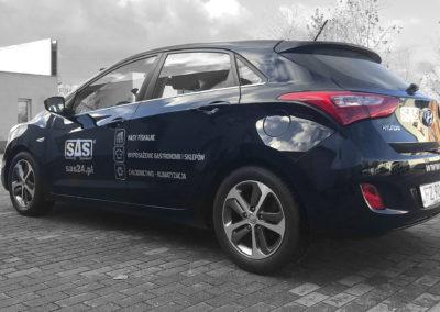 SAS - projket i oklejenie auta_3