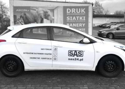 SAS - projket i oklejenie auta_4