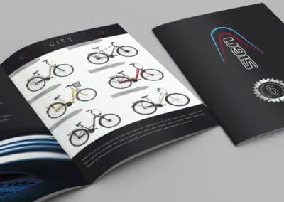 Sign Rowery - katalog - projekt i druk