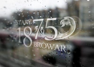 Stary Browar – logo, projekt