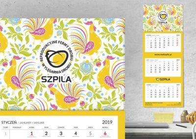 Szpila - kalendarz