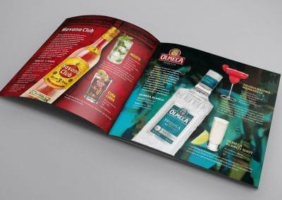 Wyborowa Pernod Ricard, Havana, Olmeca – reklama prasa branżowa