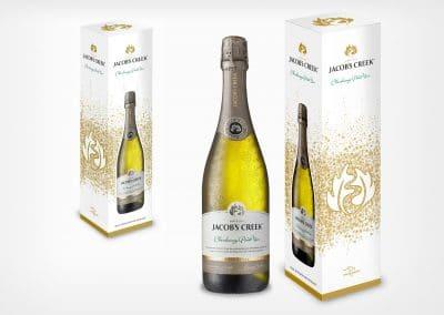Wyborowa Pernod Ricard – Jacob's Creek, projekt opakowania, pudełko
