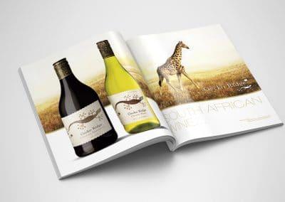 Wyborowa Pernod Ricard – reklamy prasowe, projekty