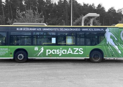 autobus AZS - projekt i oklejenie