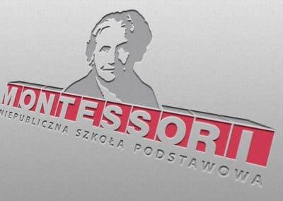 szkoła Montessori – projekt logo